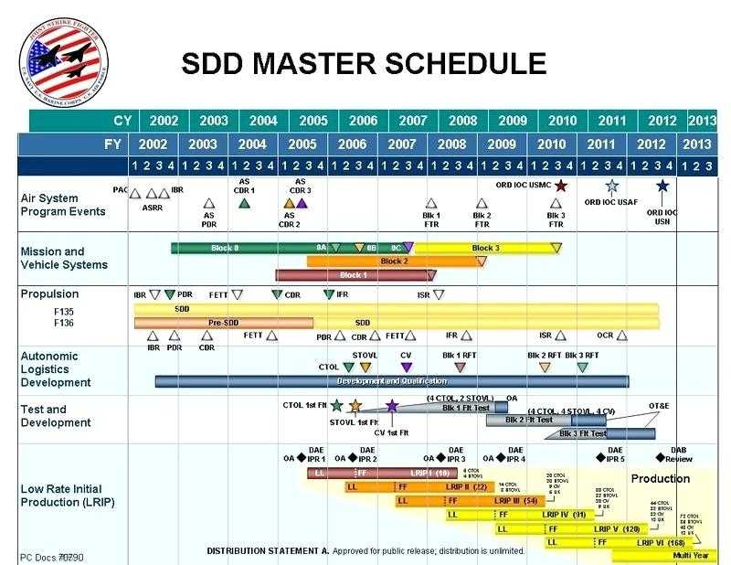 Master Schedule Template Excel Printable Schedule Template
