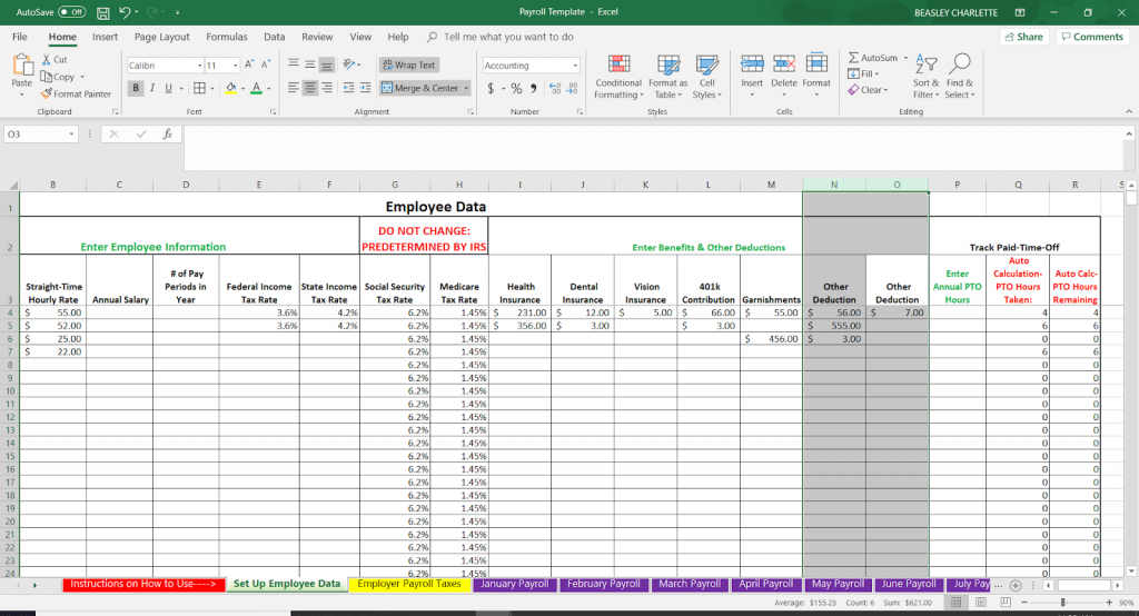 How To Do Payroll In Excel In 7 Steps Free Template