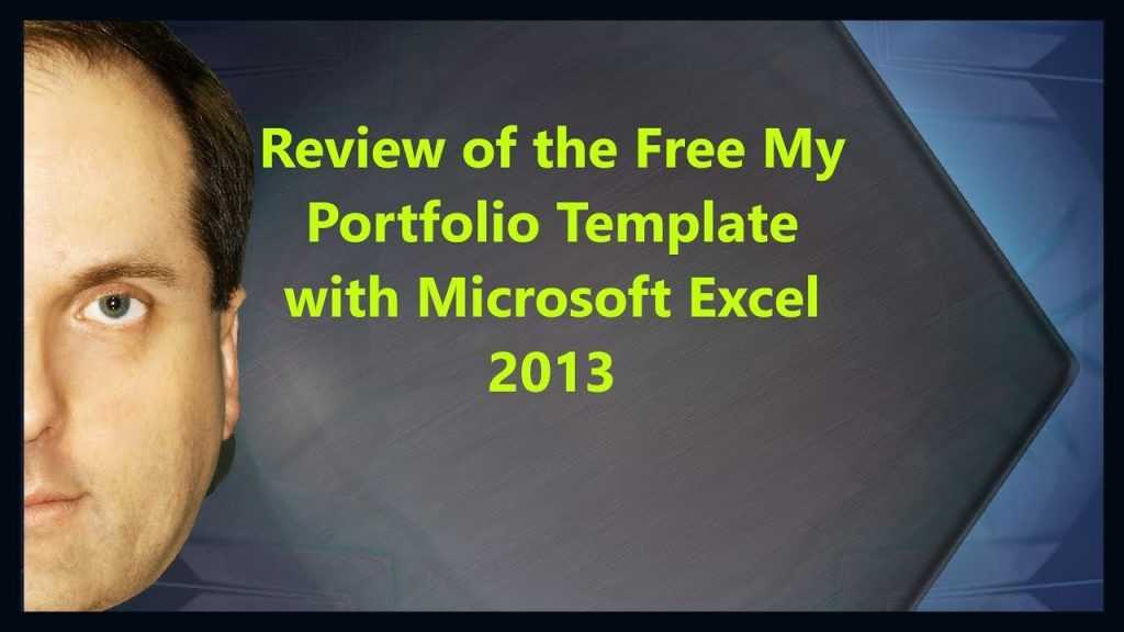Review Of The Free My Portfolio Template With Microsoft