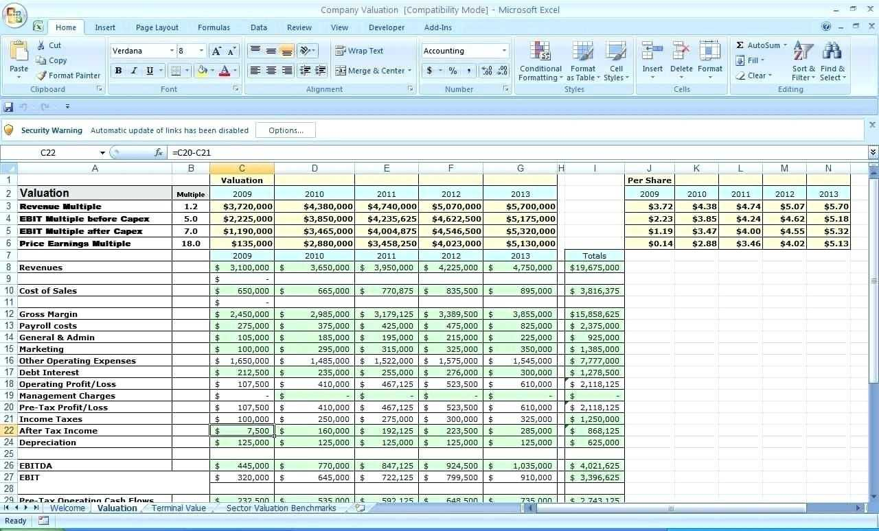 Profit Margin Excel Spreadsheet Template Db excel