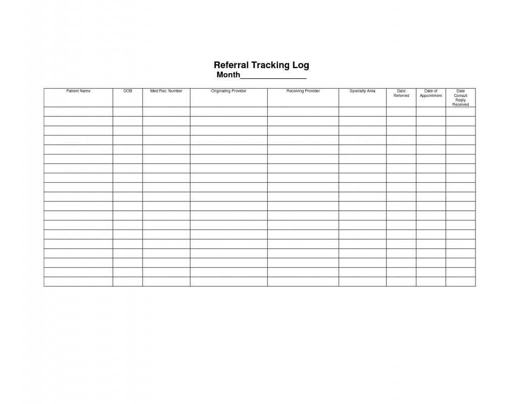 Employee Referral Tracking Spreadsheet Db excel