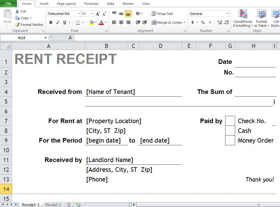 Where Can You Find The Best Excel Word Rental Receipt