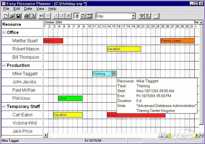 10 Resource Allocation Template Excel Excel Templates