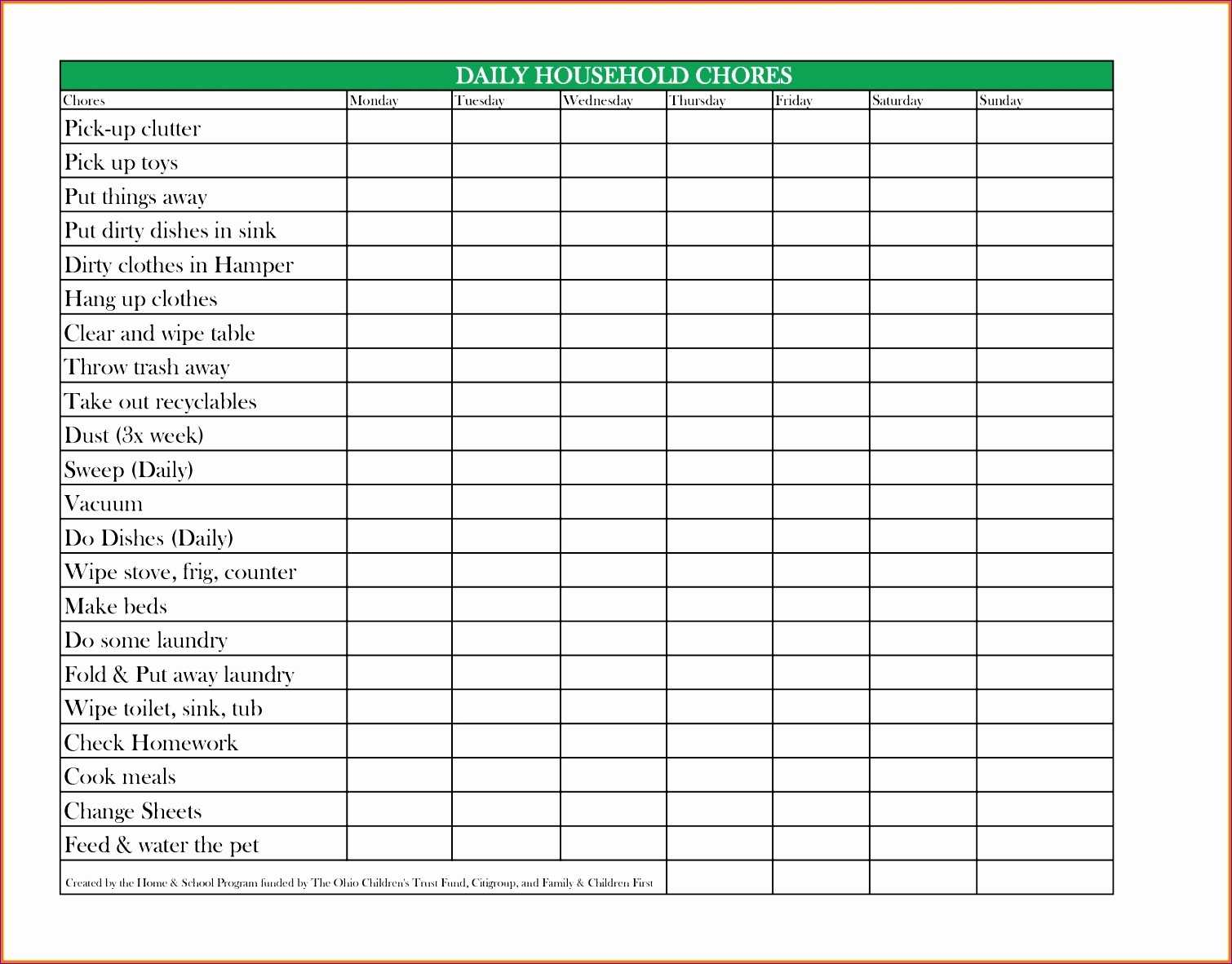 7 Responsibility Matrix Template Excel Excel Templates