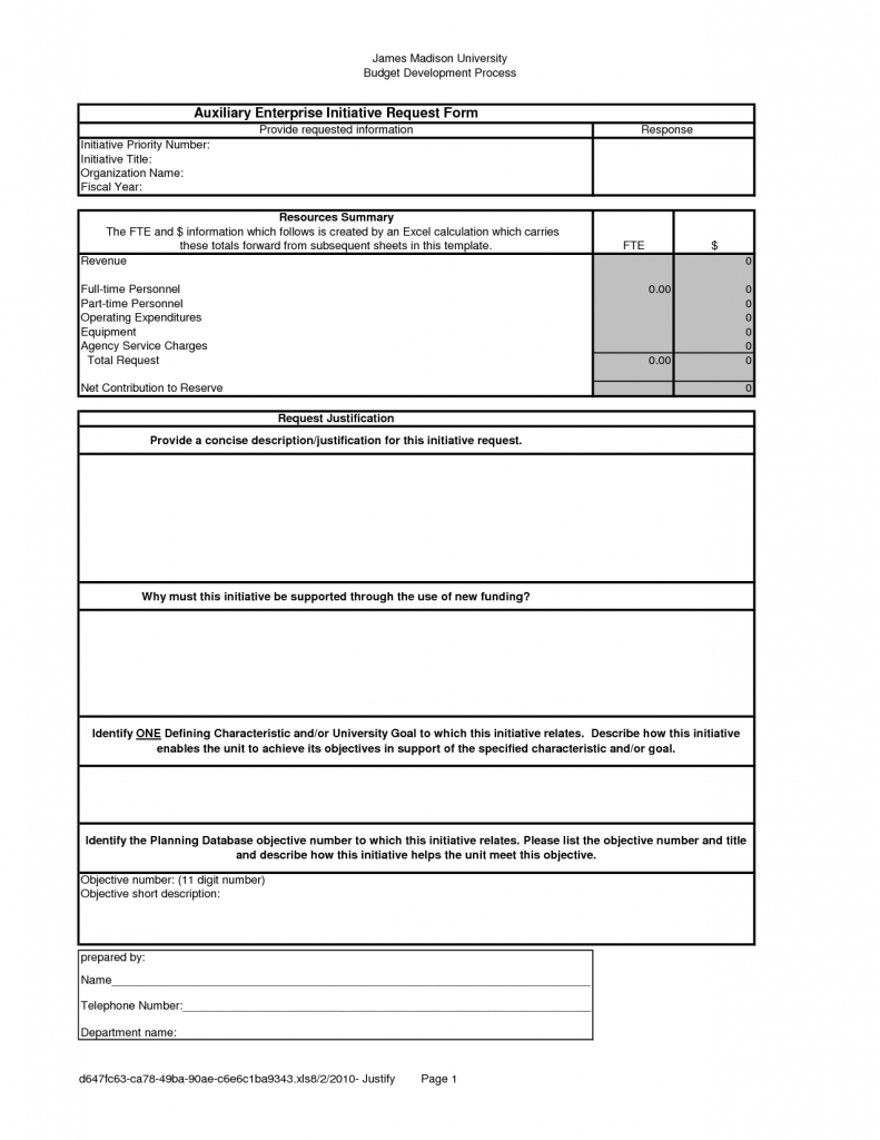 Request For Information Template Cyberuse