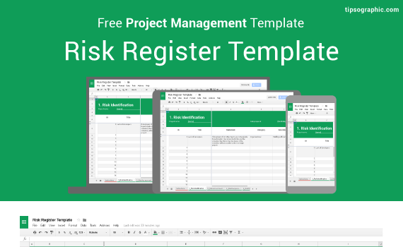 Risk Register Template For Excel Google Sheets And