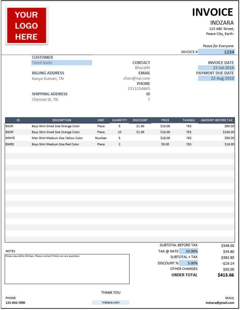 Excel Templates For Small Business Inventory Orders