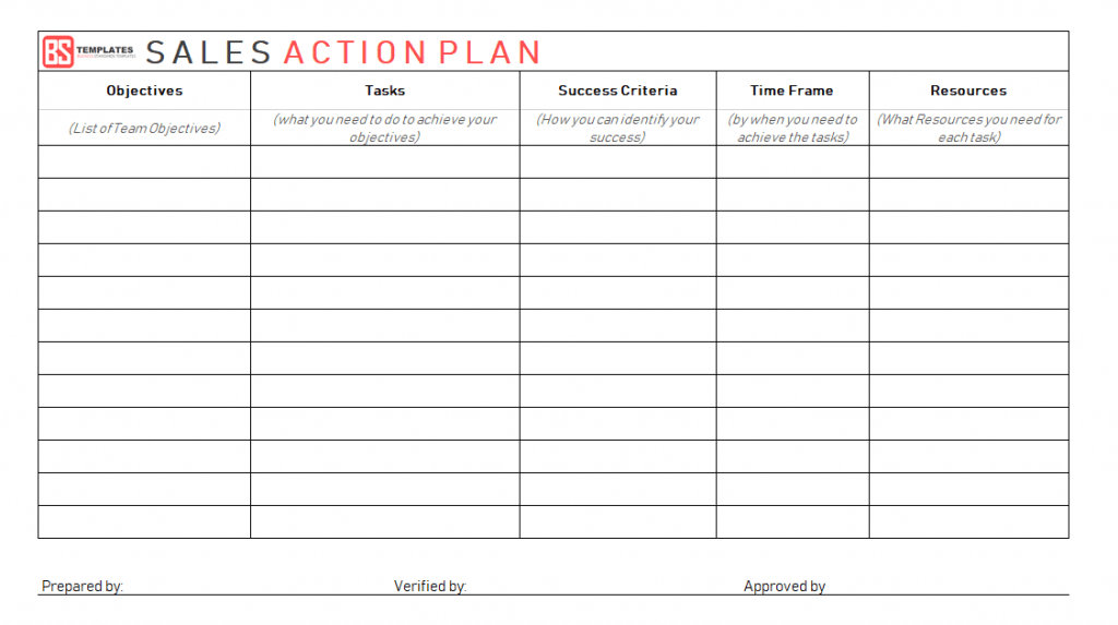 Action Plan Templates 100 Free Templates Word Excel