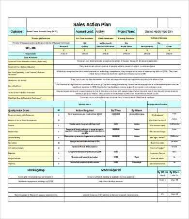 Excel Sales Template 8 Free Excel Documents Download