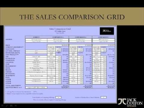 The Sales Comparison Grid YouTube