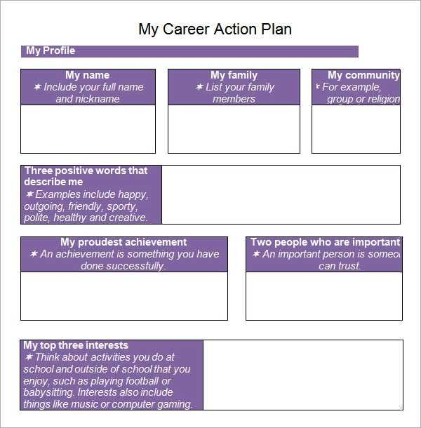 Sample Action Plan Template 9 Free Documents In PDF