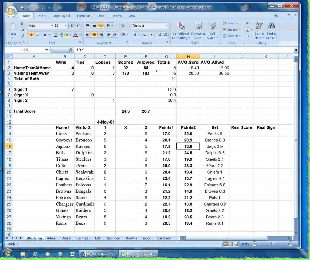 Sports Betting Strategy Spreadsheet Db excel