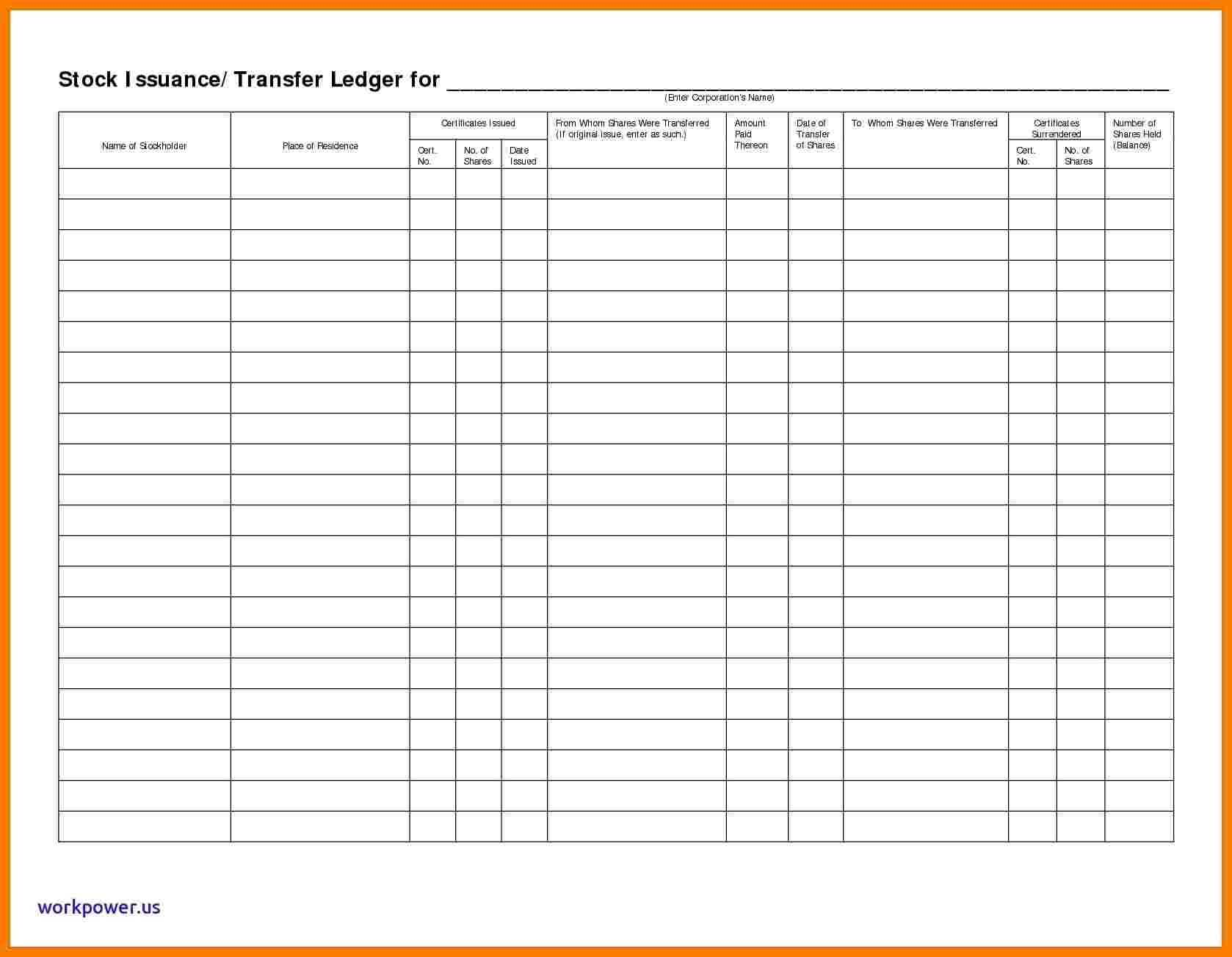 5 Stock Ledger Excel Ledger Review
