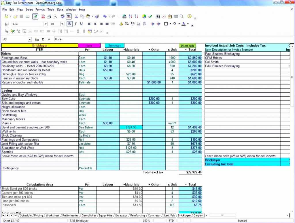 Project Cost Tracking Template Excel Akademiexcel