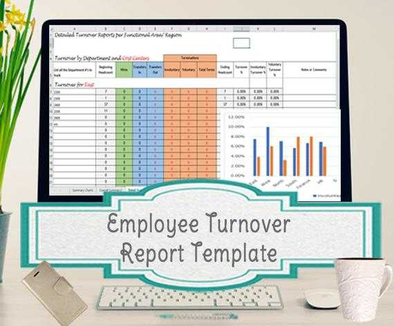 Turnover Analysis Report Excel Template Employee Turnover