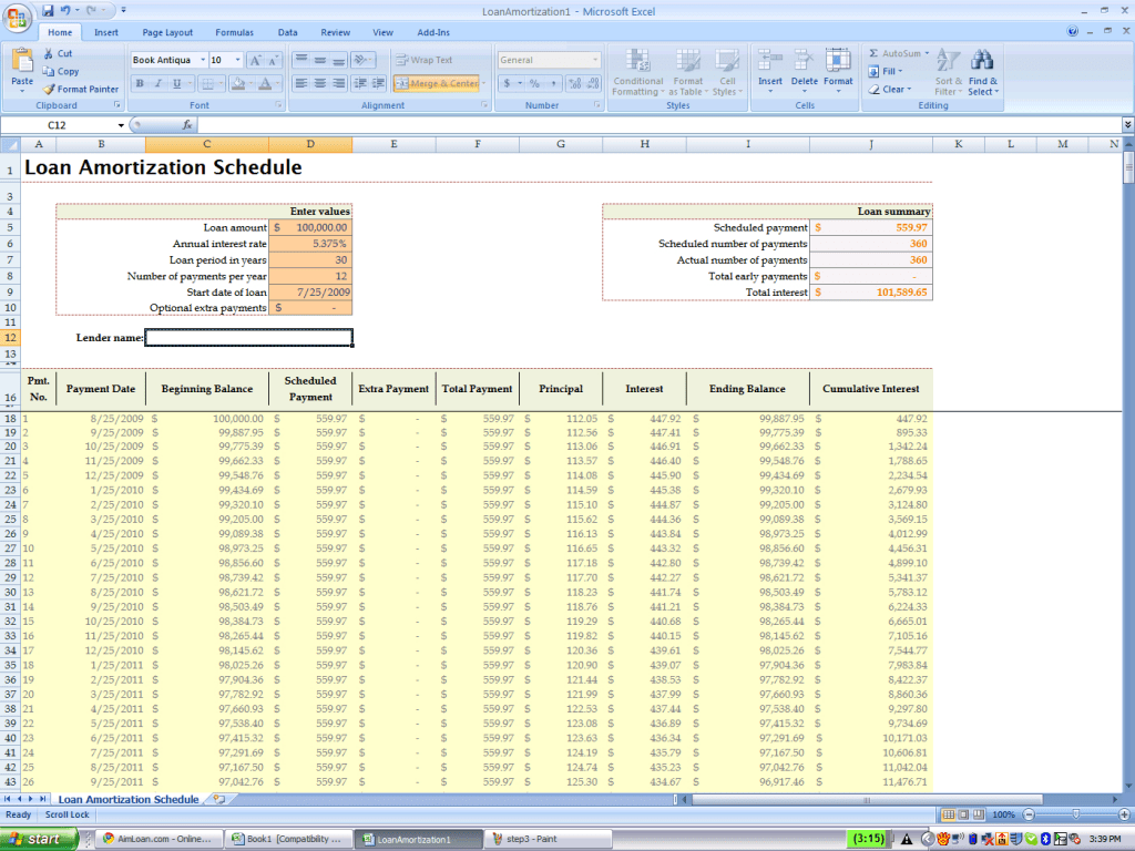 Velocity Banking Spreadsheet Template For Loan Benefit