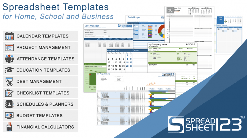 Free Invoice Templates For Excel Spreadsheet123