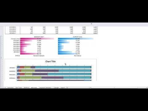 Workforce Planning Template In Excel YouTube