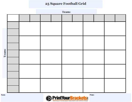 Search Results For Blank Football Pool Sheets Pdf