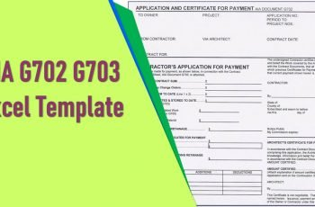 Aia G702 G703 Excel Template