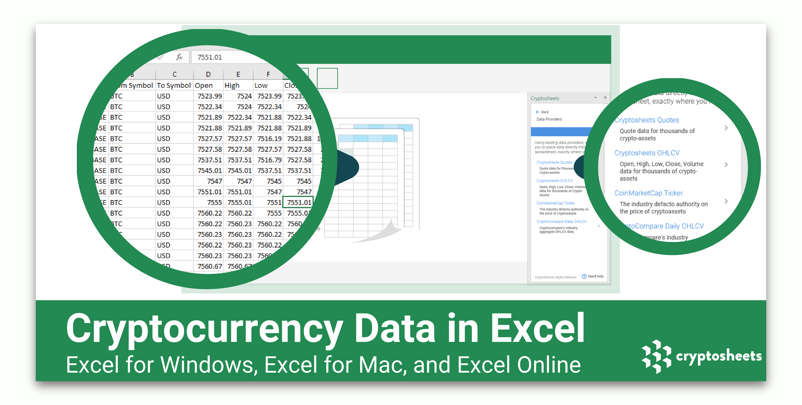Cryptocurrency Realtime Price Tracker In Excel - Bitcoin Excel Spreadsheet Template