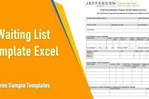 Waiting List Template Excel