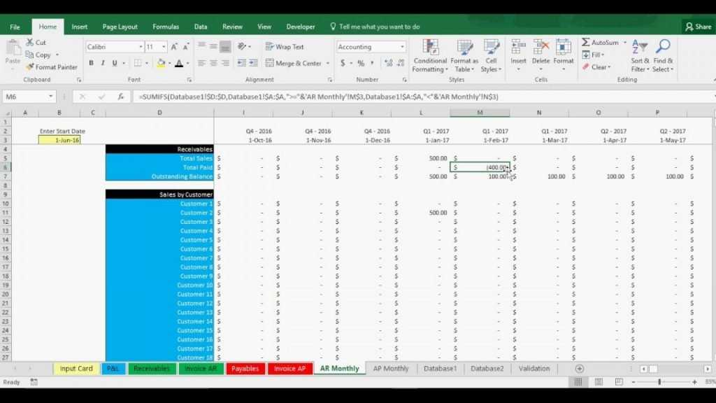 Accounts Payable Spreadsheet Example Intended For 001