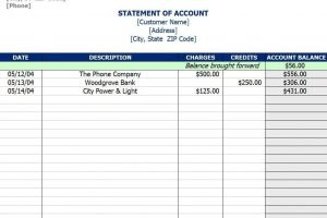 Accounts Receivable Excel Spreadsheet Template Excelxo