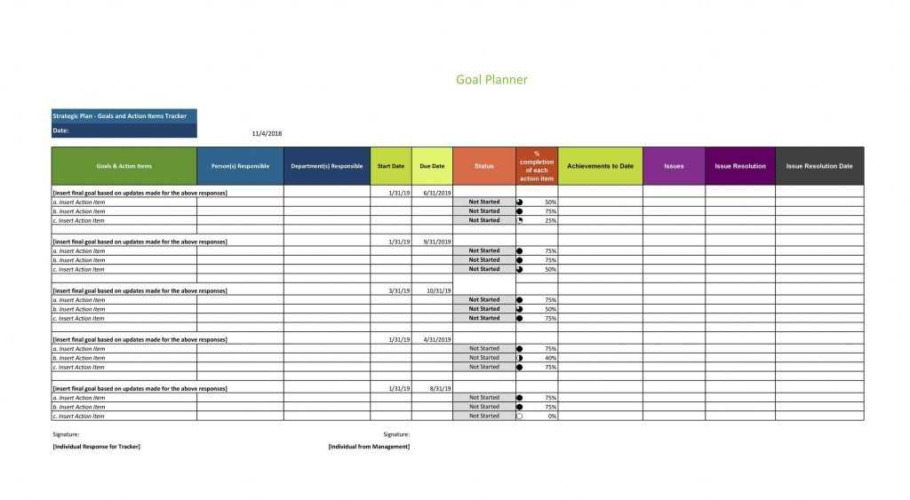 49 Great Action Item Templates MS Word Excel TemplateLab