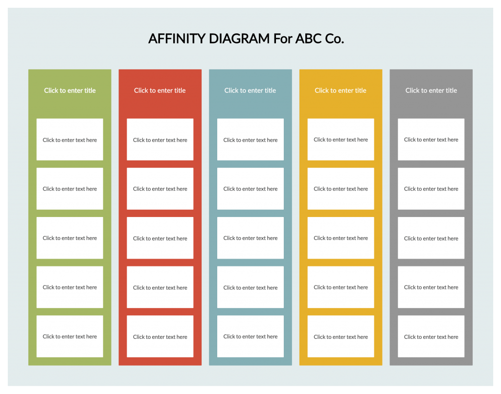 What Is An Affinity Diagram A Step by Step Guide With