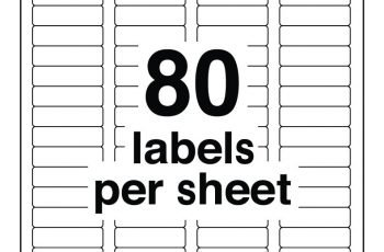 Avery Labels 5167 Excel Template Williamson ga us