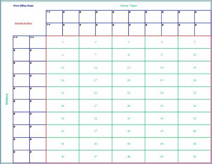 12 Football Pool Excel Template Excel Templates Excel