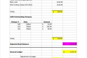 FREE 7 Bank Reconciliation Samples In MS Word PDF Excel