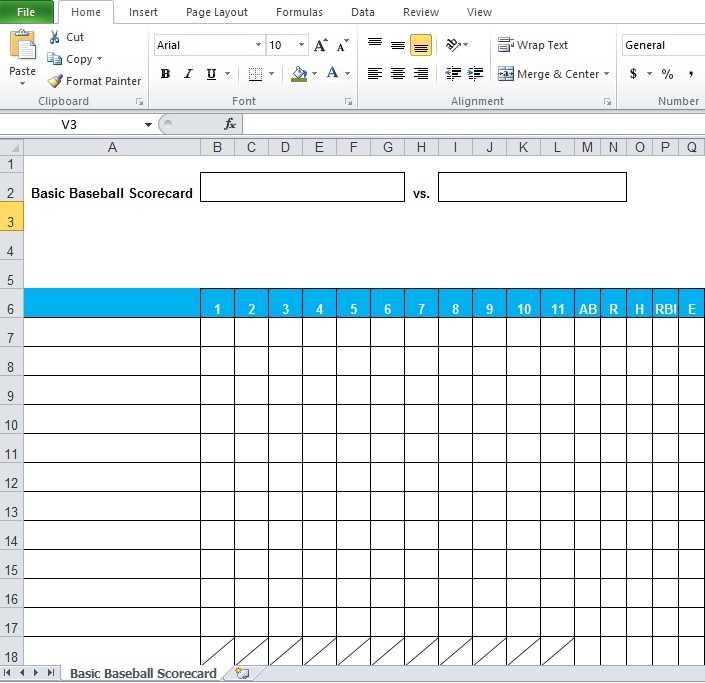 Baseball Stats Spreadsheet Excel Template Excel Tmp