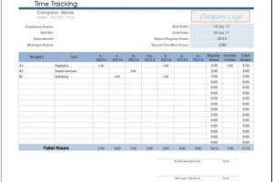 Free Billable Hours Template For Excel 2007 2016