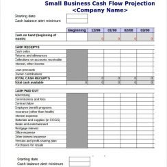 Cash Flow Excel Template 13 Free Excels Download Free