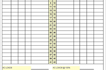 Free Electrical Panel Label Template Excel And Online