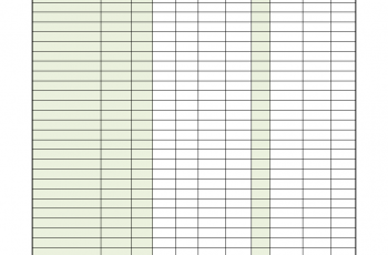 Class Roster Template Worksheet Excel Templates At