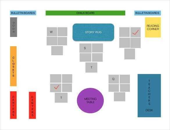 Classroom Seating Chart Template 22 Examples In PDF