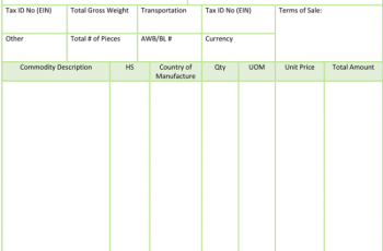 8 Free Commercial Invoice Templates To Stay Professional