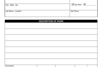 Download Construction Purchase Order Template Excel