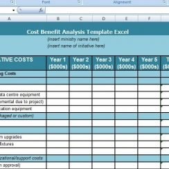 Get Cost Benefit Analysis Template Excel Excel