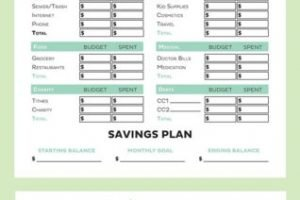 Envelope Budget Spreadsheet In Spreadsheet Personal Budget