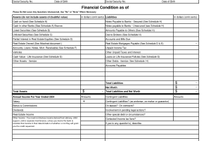 8 Free Financial Statement Templates Word Excel Sheet PDF