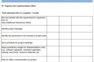 Project Implementation Plan Template 6 Free Word Excel