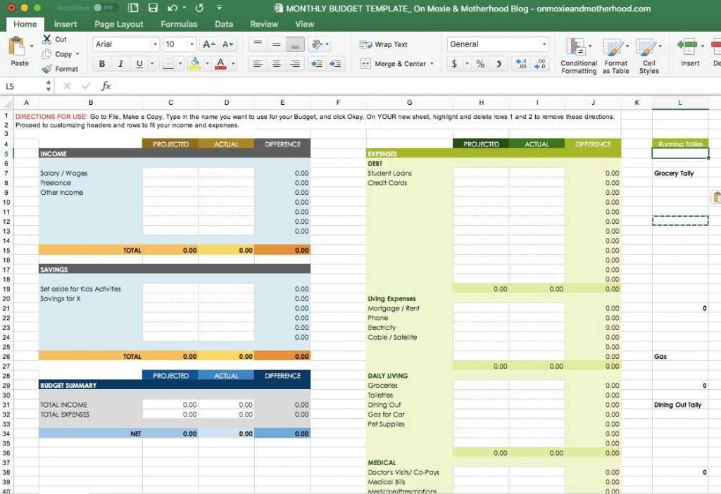 Information Technology Budget Template Free Excel Free