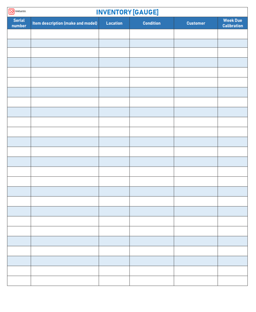 Free Excel Inventory Template Excel Spreadsheet