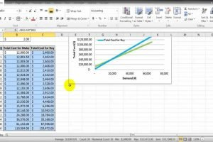 Make Vs Buy Analysis Excel Template
