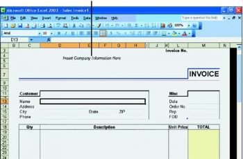 Exploring Excel Templates Sams Teach Yourself Microsoft