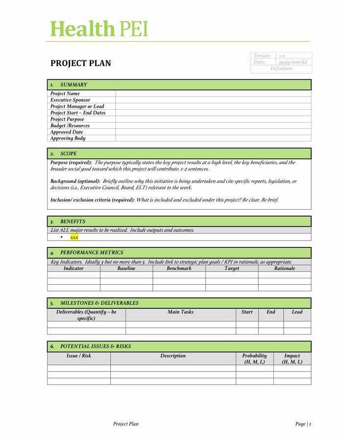 Project Charter Example Pdf Awesome Project Charter
